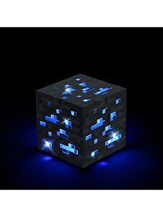 Think Geek Minecraft Light-Up Diamond Ore ThinkGeek http://www.amazon.com/dp/B00GPAKQ0I/ref=cm_sw_r_pi_dp_zlZIub1F3NVCG