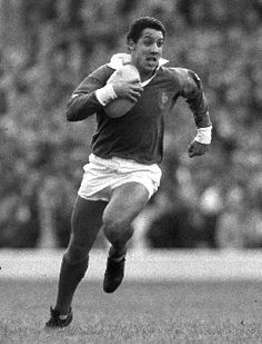 Serge Blanco. Running in the snow they say he didn't leave any footprints!. The ultimate counter-attacking full back legend whose absence the world of rugby will forever mourn.
