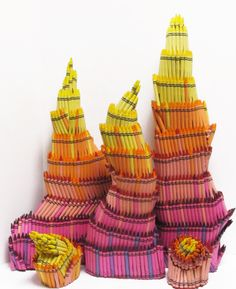 crayon wildfire sculptures by herb williams