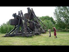 Small trebuchet firing