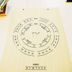 1Y - infinity calendar A project by @giacomomarangon  #calendar #infinity #wood #laser #lasercut #GraphicDesign #giacomomarangon #FineArt #Design #Graphics #artwork #DesignYourMind #DigitalArt #Dots #art #texture #artcall #artcompetitions #artcontest #artinfo #artist #callforart #color #colour #creative #fineart #graphic #myart