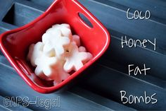 Coco Honey Fat Bombs – a great way to get more metabolism boosting coconut oil in your diet! Paleo and GAPS friendly.