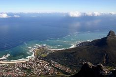 South Africa  view from table mountain