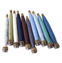 Textile Mill Spindle Set- 10 #kathykuohome