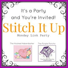 Stitch It Up Link Party #1 | The Purple Poncho