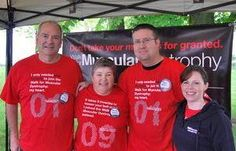 Walk for Muscular Dystropy Canada - Durham Region planning committee members.