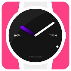 simOclock Watch Face G Watch, Android Wear, Face Design, Watch Faces, Google Play, Apps, App, Appliques