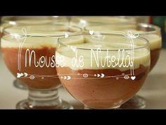 Mousse de Nutella com Leite Ninho -
