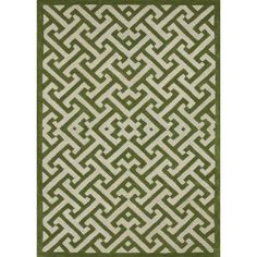 Hand-tufted Logan Lawn Wool Rug (3'6 x 5'6) | Overstock.com Shopping - The Best Deals on 3x5 - 4x6 Rugs