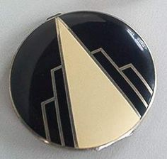 I love this one! Art Deco Compact