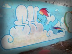 Graffiti My little pony by ShinodaGE.deviantart.com on @deviantART