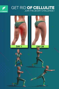 Our desire to get rid of cellulite has led to many treatment options. But you can reduce legs cellulite in natural healthy way by adding these exercises to your daily workout plan. # Fitness videos GET RID OF CELLULITE Gym Workout For Beginners, Gym Workout Videos, Fitness Workouts, Fitness Workout For Women, At Home Workouts, Workout Routines, Fitness Motivation, Workout Plans, Easy Workouts