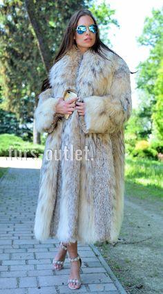 NEW LYNX LONG FUR COAT CLASS JACKET MINK FOX CHINCHILLA VEST RUSSIAN SABLE CITES in Clothes, Shoes & Accessories, Women's Clothing, Coats & Jackets | eBay