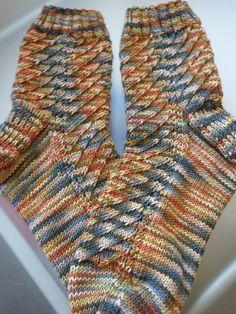 Nicki´s Handarbeiten socks: Mustersammlung Männersocken