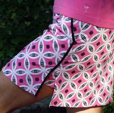 25% off the Golftini Pink/Black Tribal Skort   #Golf4Her