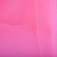 Coral Wide Nylon Tulle