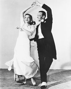 "Judy Garland and Fred Astaire. ""She was just simply wonderful. She danced beautifully, learned beautifully. She was very adept at whatever she did. Really in fine form. We were all set to do another picture together, but she got sick and that was the end of that."" - Fred Astaire on working with Judy Garland in 'Easter Parade'."