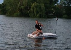 Build a Milk Jug Raft! Instructables.com