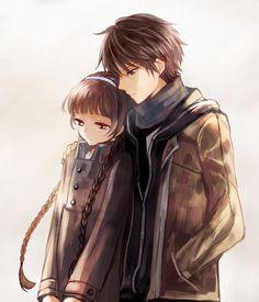 Izumiko and Miyuki (Red Data Girl)