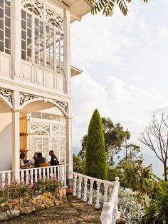 Restaurante Casa Santa Clara is atop 10,341-foot Monserrate - Colombia