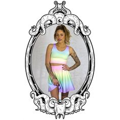 Cotton Candy Pastel Twinset  by ToothAndEye, designed and handmade in Kamloops, BC, Canada!