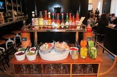 The savory flatbreads in Artisan Bistro at The Ritz-Carlton, Boston Common pair perfectly with a spicy cocktail from our Bloody Mary Bar at weekend brunch.#Boston, Massachusetts#
