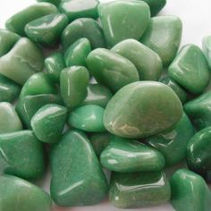 Green Aventurine is a stone of opportunity, luck, harmony, healing, and peace. Green links with the heart chakra. Lay over the heart for healing. Add it to a prosperity grid. Place in a box with money to increase wealth. Meditate to invoke harmony and peace.