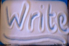 Help children with letter formation with some salt writing. Writing Activities, Educational Activities, Learning To Write, Kids Learning, Letter Formation, Phonics, Fun Things, Kid Stuff, Blog