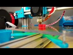 TekBot - 3D printer 17x17x22cm build volume (199EUR/214USD) - YouTube