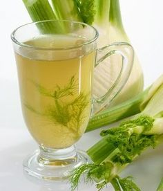 té de hinojo fennel