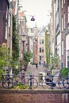 ★Amsterdam by Lina Gavėnaitė, via Behance