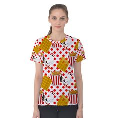 Chicken and Waffles Women's Cotton Tee