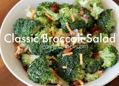 The Broccoli Salad Recipe you Crave! ~ https://reallifedinner.com