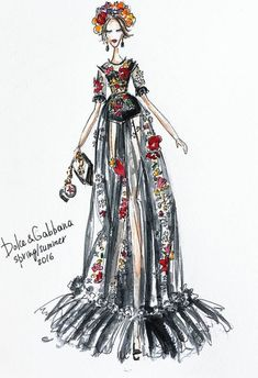 Dolce Gabbana Fall 2016 by @ekateri_lukina| Be Inspirational❥|Mz. Manerz: Being well dressed is a beautiful form of confidence, happiness & politeness