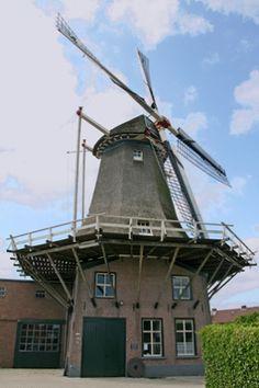 #Windmill - Flour mill De Vriendschap, Veenendaal, the #Netherlands http://dennisharper.lnf.com/
