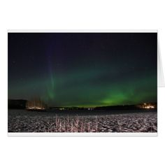 Christmas sky northern lights card - Xmascards ChristmasEve Christmas Eve Christmas merry xmas family holy kids gifts holidays Santa cards
