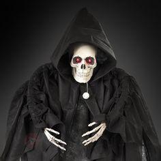 Halloween Geist mit rot blinkenden Augen