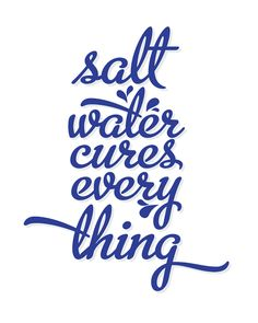 Virginia and Charlie: The Salt Water Cure - Free Printable