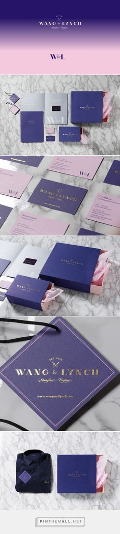 Branding, fashion and packaging for Wang & Lynch Branding on Behance by Frames Hong Kong, Hong Kong curated by Packaging Diva PD. A lifestyle brand that offers accessories and wedding décor pieces inspired by merging of the love for design, craftsmanship, and global cultures.