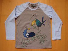 hand painted T-shirt ručně malované tričko
