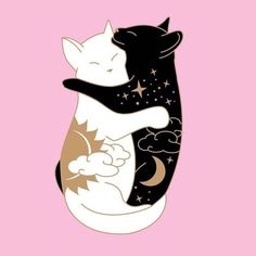 29 Ideas for tattoo moon witch black cats Cat tattoo Tattoo Chat, Luna Tattoo, Hp Tattoo, Tattoo Flash, Wallpaper Gatos, Tattoo Mond, Cat Colors, Cat Love, Crazy Cats