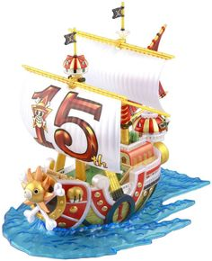"Bandai Hobby Grand Ship Collection Thousand Sunny 15th Anniversary Version ""One Piece"" Model Kit"