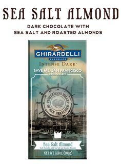 Save Me, San Francisco Chocolate. Train and Ghirardelli team up. Sea Salt Almond, Intense Dark and Dark Cabernet. Oh please, could a box show up on my doorstep? Ghirardelli Chocolate, Chocolate Gifts, How To Make Chocolate, Vicci Martinez, The Secret Sisters, Keep Calm And Love, My Love, San Francisco Bars, Drops Of Jupiter