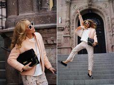 Angelica Blick | Love the blazer!