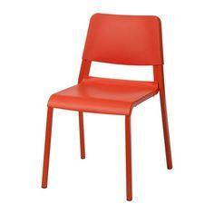 TEODORES Chaise IKEA Ne prennent pas de place quand vous ne les utilisez pas car vous pouvez empiler jusqu'à 6 chaises.