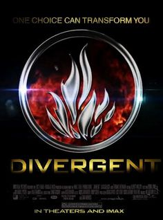 Divergent movie poster! Yeah!! Glad they are making this into a film.