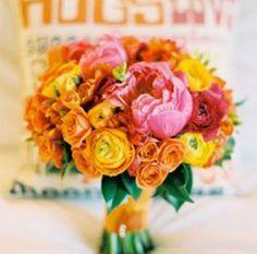 A fresh bouquet.