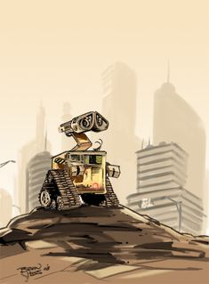 I love PIXAR as most of you can tell....I kind of draw, watch, read, wait and live to see their movies. They are my favorite animated movies and I'm sure WALL*E won't dissapoint. This is ...