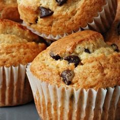 34 Ideas Baking Desserts Muffins Sweets For 2019 Baked Breakfast Recipes, Breakfast Bake, Muffin Recipes, Baking Recipes, Cookie Recipes, Breakfast Muffins, Chocolate Chip Cake, Chocolate Chip Muffins, Chocolate Desserts