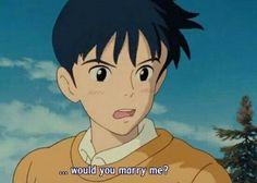 Seiji! Whisper of the Heart. Studio Ghibli.
